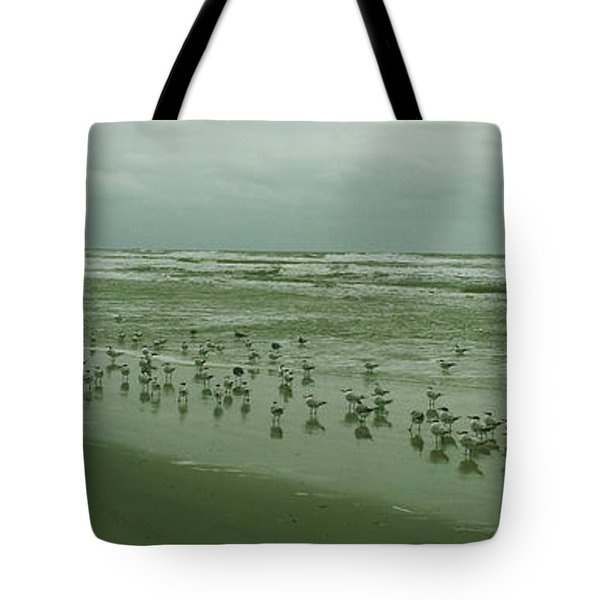 Tote Bag featuring the photograph Facing The Wind by Donna Brown