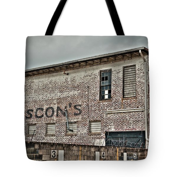 Faded Facade Tote Bag