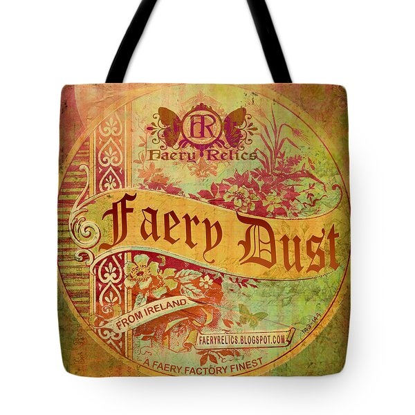 Faery Dust Tote Bag