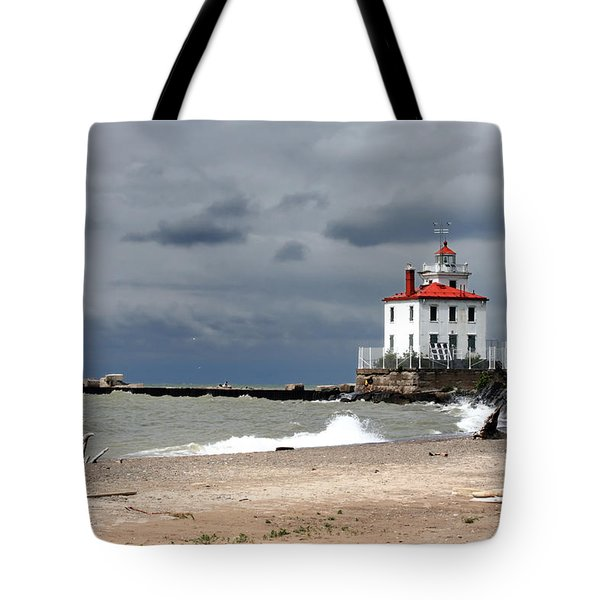 Fairport Harbor Beach Tote Bag