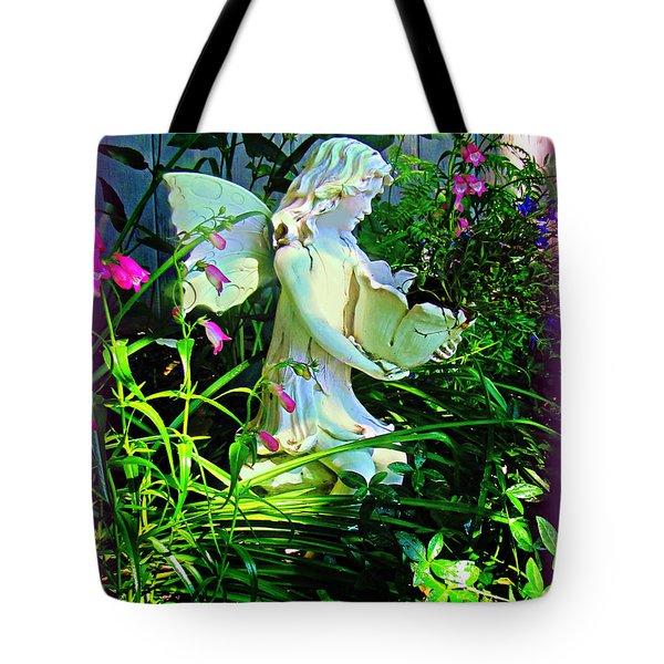 Fairy Girl Tote Bag