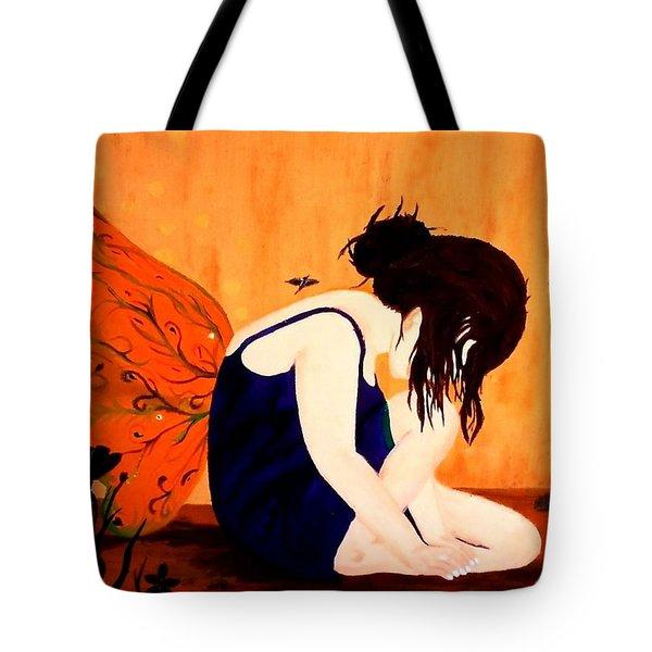 Fairy  Tote Bag by Nicole Champion