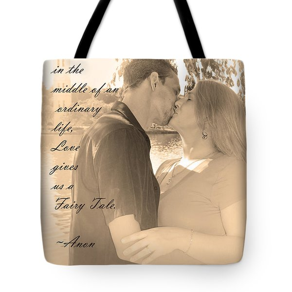Tote Bag featuring the photograph Fairy Tale by Kelly Hazel