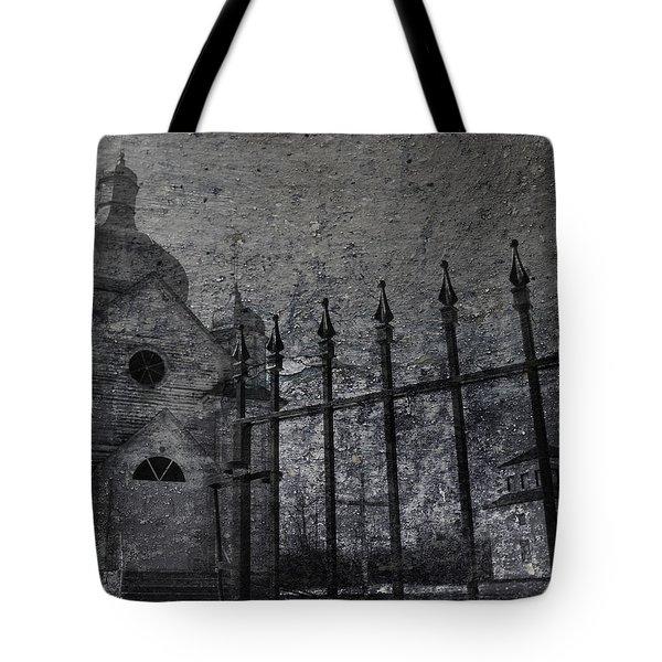 Faith Of Stone  Tote Bag by Jerry Cordeiro