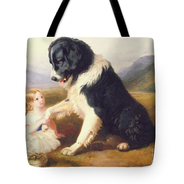 Faithful Friends Tote Bag by English School