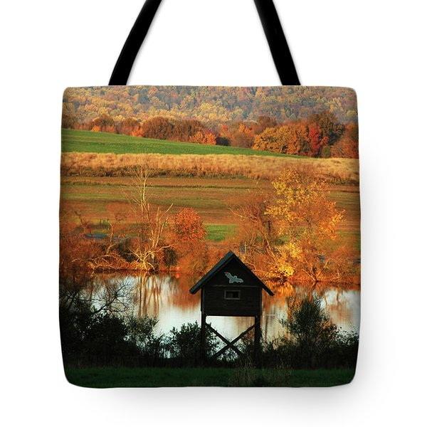 Tote Bag featuring the photograph Fall Colors 1 by Vilas Malankar