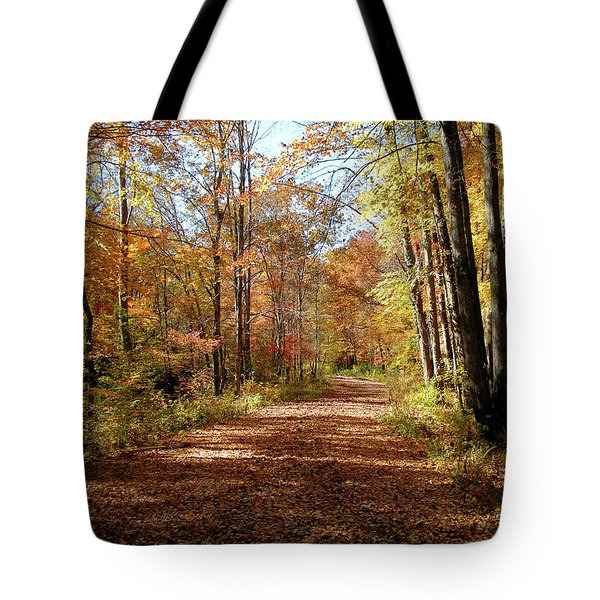 Tote Bag featuring the photograph Fall Coming On by Paul Mashburn
