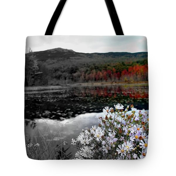 Fall Creeps In Tote Bag by Rick  Blood