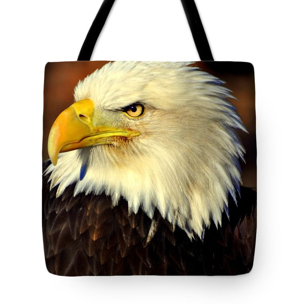Fall Eagle 5 Tote Bag by Marty Koch