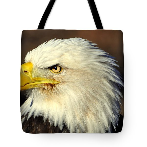 Fall Eagle 6 Tote Bag by Marty Koch