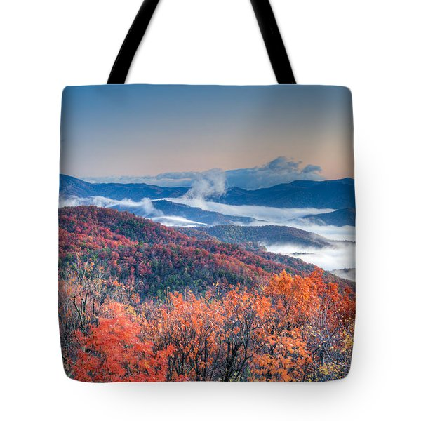 Fall Fog 1 Tote Bag