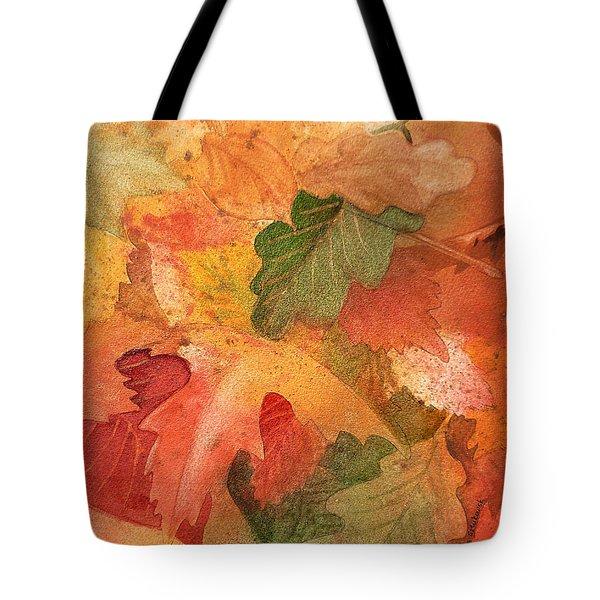 Fall Impressions II Tote Bag by Irina Sztukowski