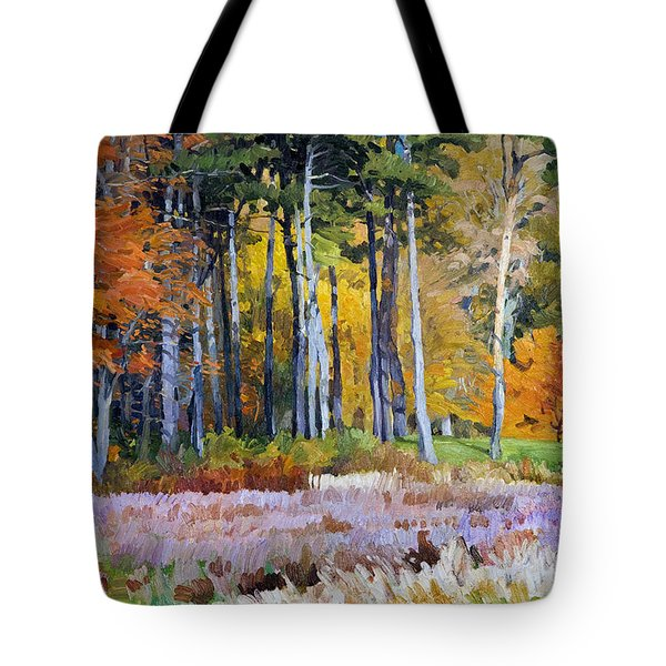 Fall In The Arboretum Tote Bag