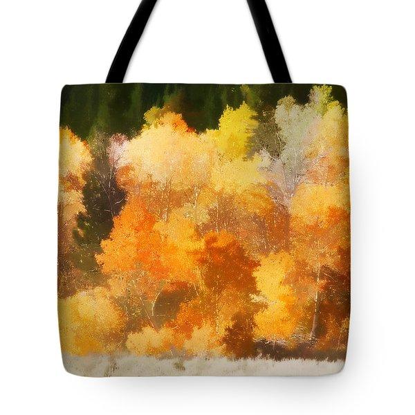 Fall In The Sierra IIi Tote Bag