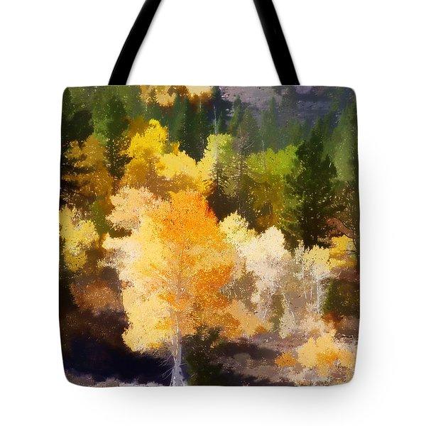 Fall In The Sierra Iv Tote Bag