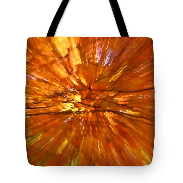 Fall Inside Out Tote Bag by Rachel Cohen