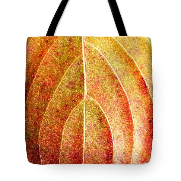 Fall Leaf Upclose Tote Bag