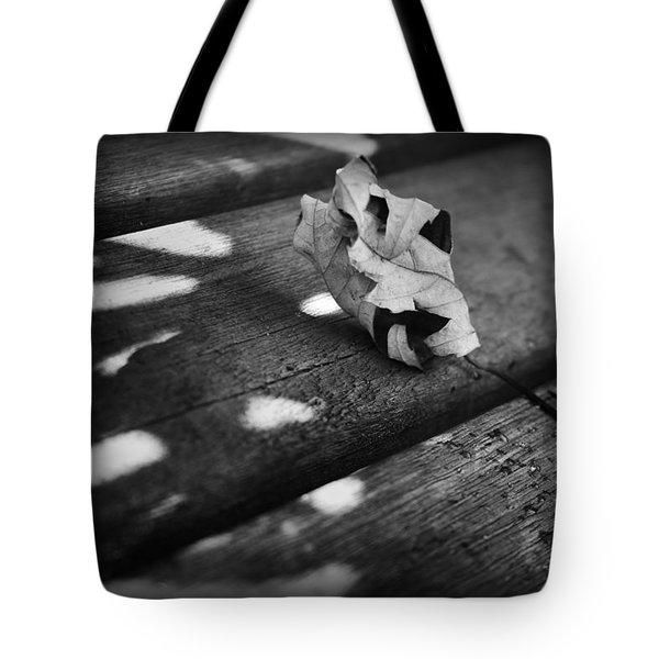 Fall Leaves Iv Tote Bag