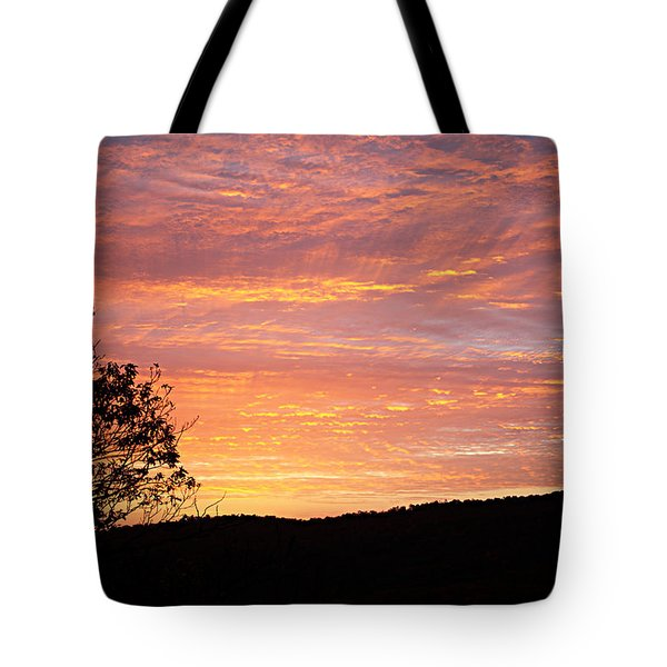 Fall Sunrise Tote Bag
