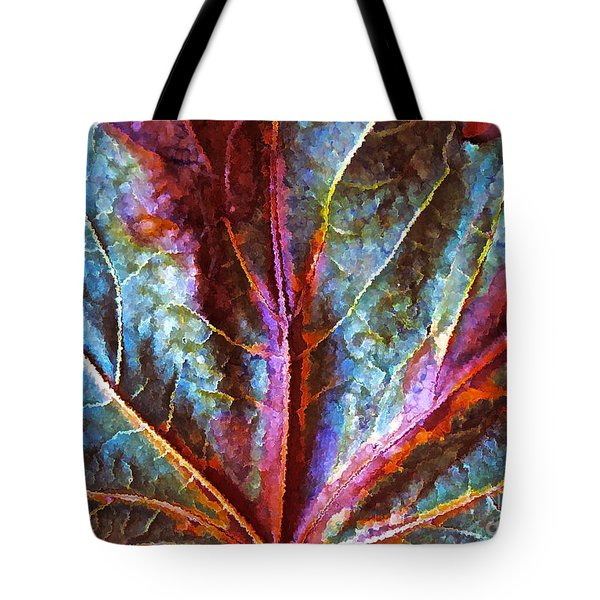 Fall Up Close Tote Bag by Gwyn Newcombe