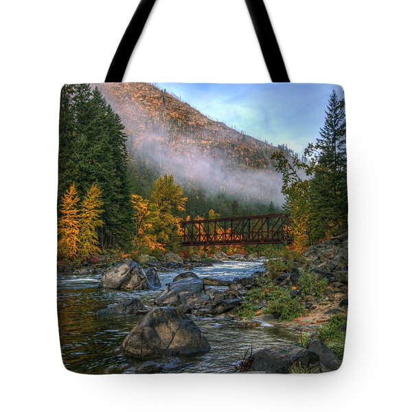 Fall Up The Tumwater Tote Bag
