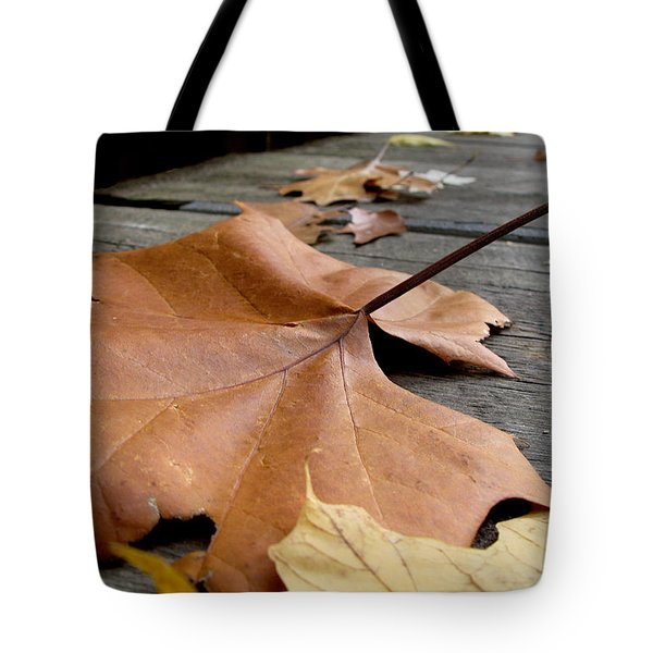 Fallen Leaf Tote Bag by Jack Schultz
