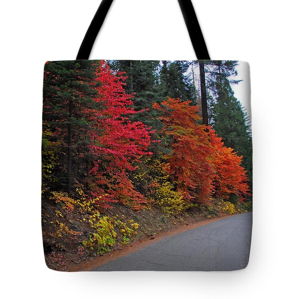 Tote Bag featuring the photograph Fall's Splendor by Lynn Bauer