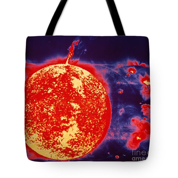 False-color Skylab Image Of A Solar Tote Bag by NASA / Science Source