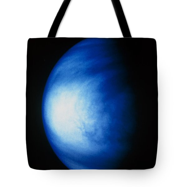 False Colour Image Of Venus Sulphuric Tote Bag by NASA / Science Source