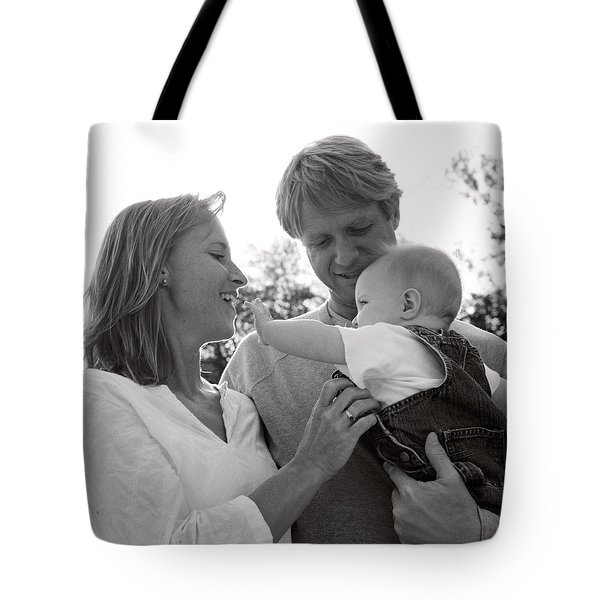 Family Portrait Tote Bag by Michelle Quance