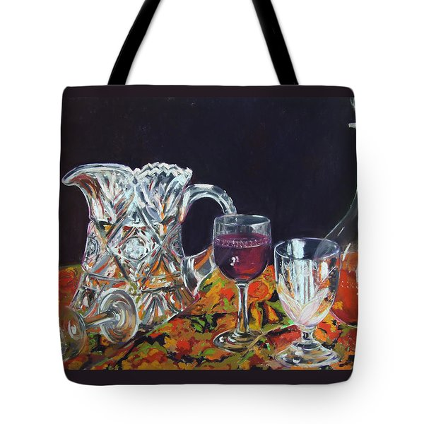 Family Ties Tote Bag by Marie-Claire Dole