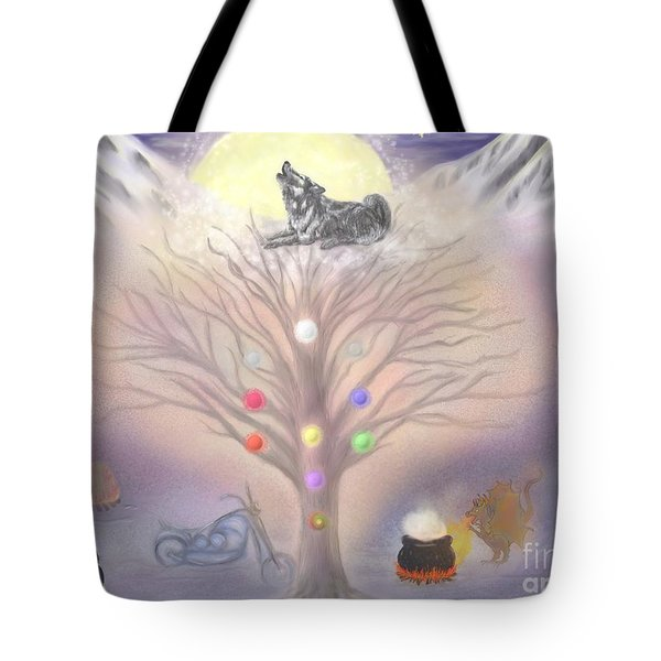 Family Wh Commission Tote Bag by Roxy Riou