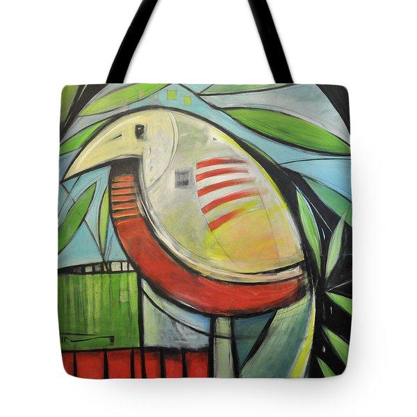Fancy Bird Tote Bag by Tim Nyberg