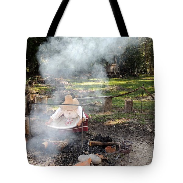 Fanning The Flames Tote Bag by Marilyn Holkham