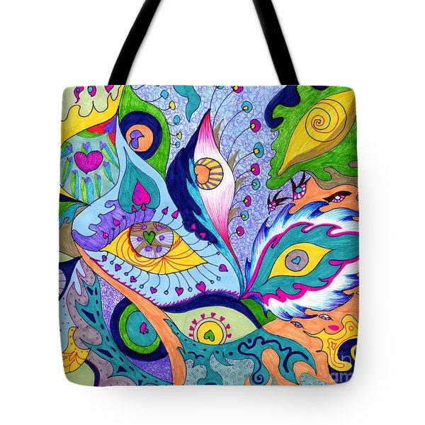Fantas Eyes Tote Bag