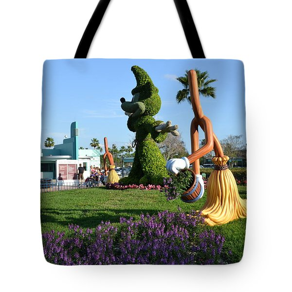 Fantasia In Flowers Tote Bag