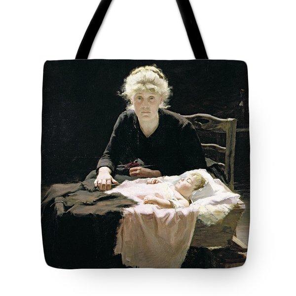 Fantine Tote Bag by Margaret Hall
