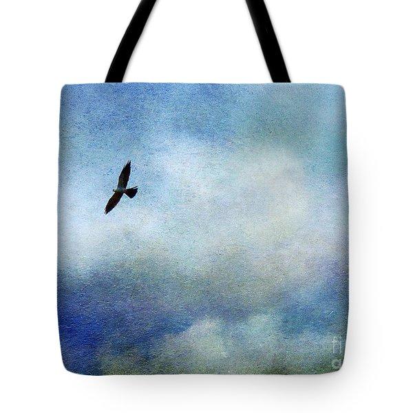 Far Above Tote Bag by Judi Bagwell