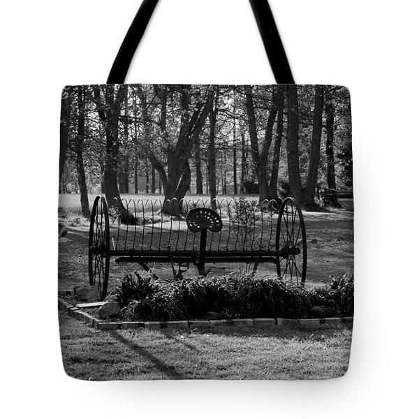 Farm Antique Tote Bag by Karen Harrison