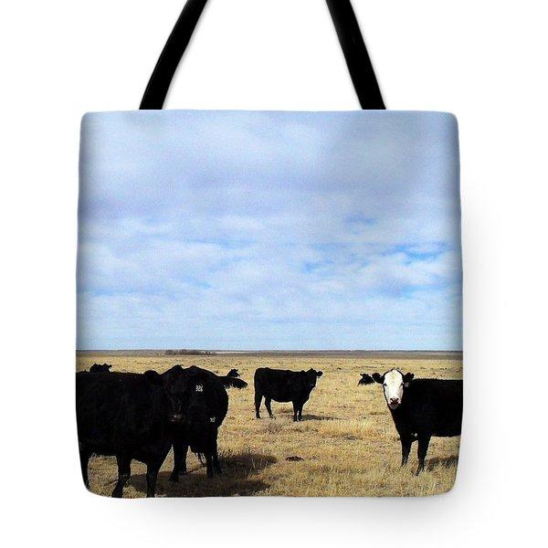 Farm Friends Tote Bag by Clarice  Lakota