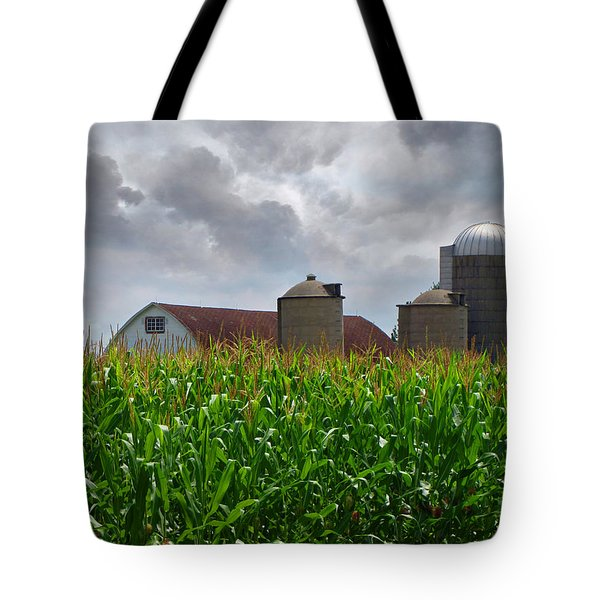 Farm Landscape Tote Bag by Ms Judi