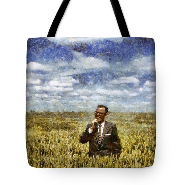 Farm Life - A Good Crop Tote Bag by Nikki Marie Smith