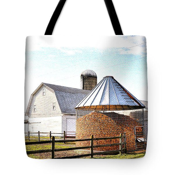 Farm Life Tote Bag by Todd Hostetter