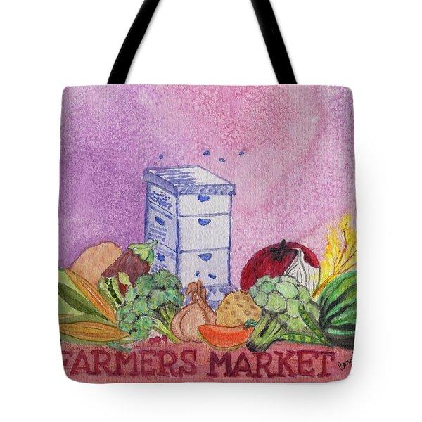 Farmers Market No.3 Tote Bag