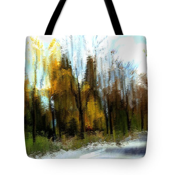 Farmington Tote Bag by Terence Morrissey