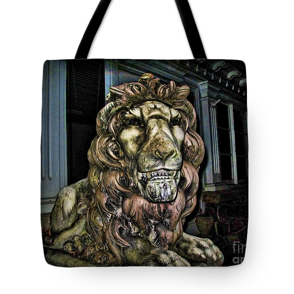 Farnam Manor Haunt Tote Bag by Joan  Minchak