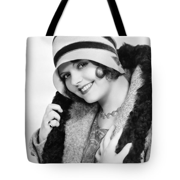 Fashion: Cloche Hat, 1929 Tote Bag by Granger