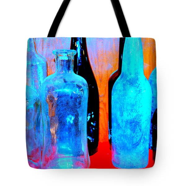 Fauvist Bottles Tote Bag