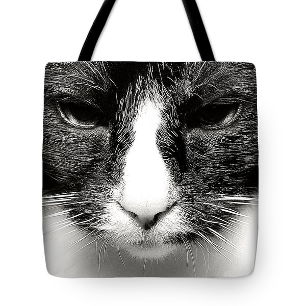 Fearless Feline Tote Bag
