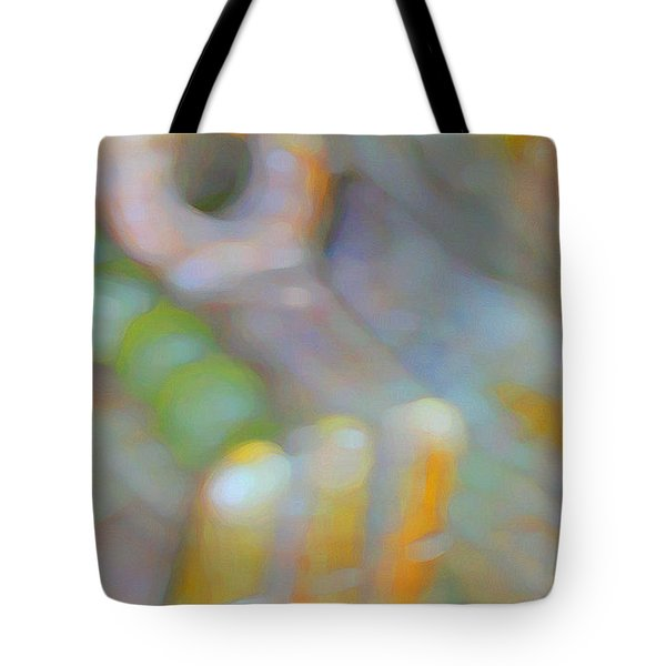 Tote Bag featuring the digital art Fearlessness by Richard Laeton